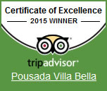 Tripadvisor - Certificate of Excellence 2015